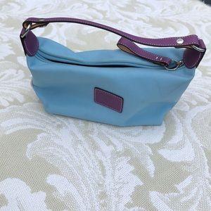 Coach Vintage nylon baguette small purse.